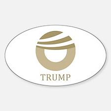 Trump Obama Logo Decal