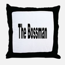Unique Boss Throw Pillow