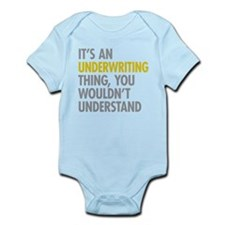 Underwriting Thing Body Suit