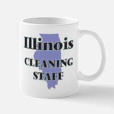 Illinois Cleaning Staff Mugs