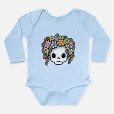 Unique Baby hippie Long Sleeve Infant Bodysuit