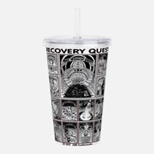 RECOVERY QUEST Acrylic Double-wall Tumbler