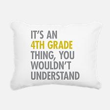 4th Grade Thing Rectangular Canvas Pillow
