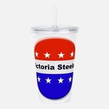 Vote Victoria Steele Acrylic Double-wall Tumbler