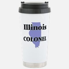 Illinois Colonel Travel Mug