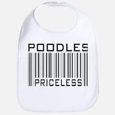 Poodle Priceless Dog Lover Bib