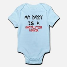 My Daddy Is a construction worker. Body Suit