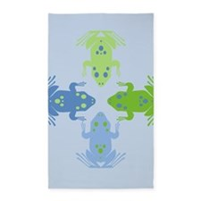 Four Frogs Area Rug