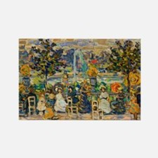 In Luxembourg Gardens by Prenderg Rectangle Magnet