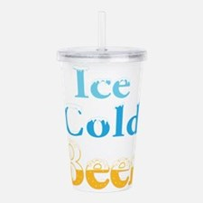 Ice Cold Beer Acrylic Double-wall Tumbler