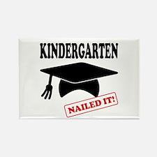 Kindergarten Nailed It Rectangle Magnet