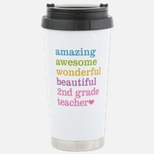 Amazing 2nd Grade Teach Travel Mug