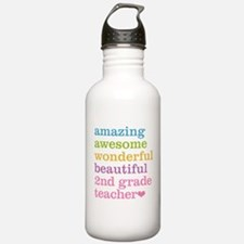 Amazing 2nd Grade Teac Water Bottle