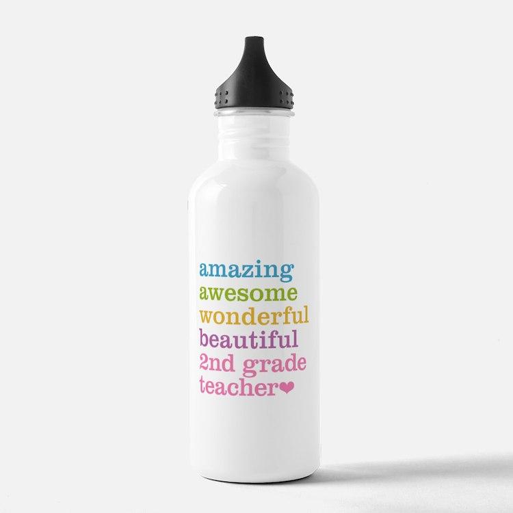 Amazing 2nd Grade Teac Water Bottle