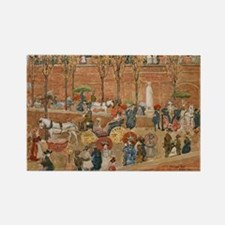 Pincian Hill, Rome by Prendergast Rectangle Magnet
