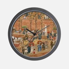 Pincian Hill, Rome by Prendergast Wall Clock