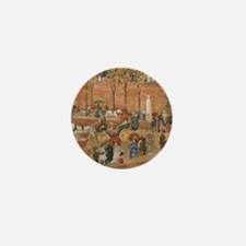 Pincian Hill, Rome by Prendergast Mini Button