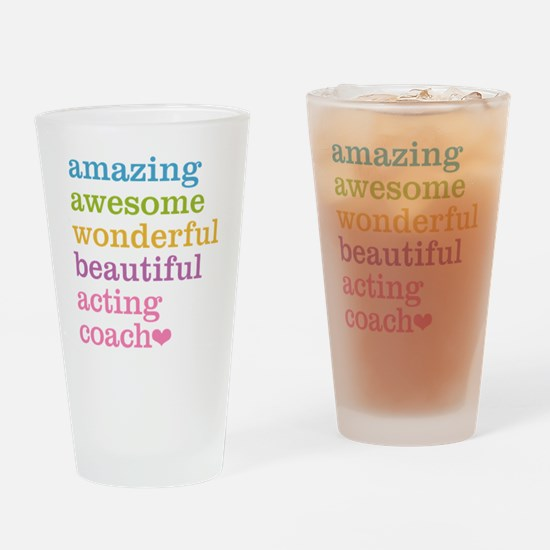 Amazing Acting Coach Drinking Glass