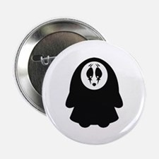 """Scary Nun 2.25"""" Button (10 pack)"""