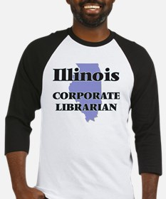 Illinois Corporate Librarian Baseball Jersey
