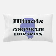 Illinois Corporate Librarian Pillow Case