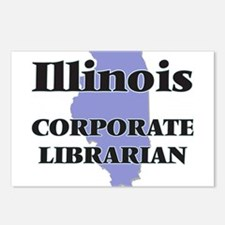 Illinois Corporate Librar Postcards (Package of 8)