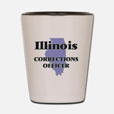 Illinois Corrections Officer Shot Glass