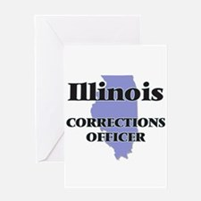 Illinois Corrections Officer Greeting Cards