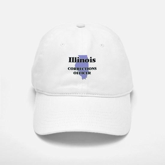 Illinois Corrections Officer Baseball Baseball Cap