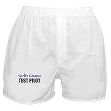 Worlds Greatest TEST PILOT Boxer Shorts
