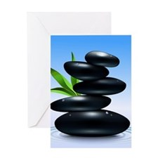 Zen Stones Greeting Cards