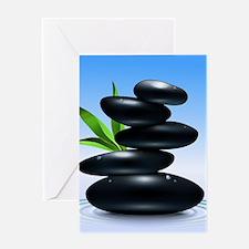 Zen Stones Greeting Cards