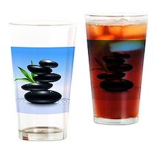 Zen Stones Drinking Glass