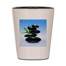 Zen Stones Shot Glass