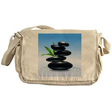 Zen Stones Messenger Bag