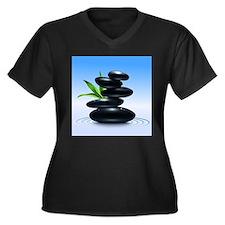 Zen Stones Plus Size T-Shirt