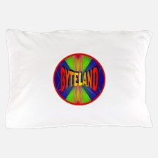Byteland The First Cyber Nation Crowd Pillow Case