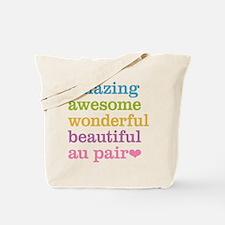 Amazing Au Pair Tote Bag