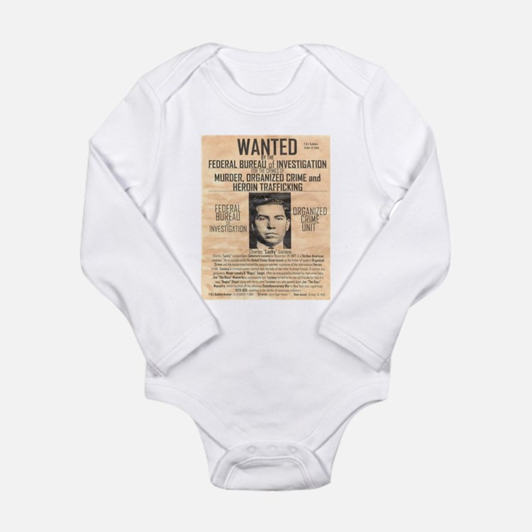 Cute Luciano Long Sleeve Infant Bodysuit