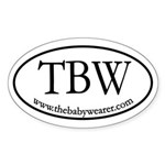 TBW Oval Oval Sticker