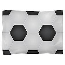 Football Ball Texture Pillow Sham