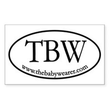 TBW Oval Rectangle Sticker