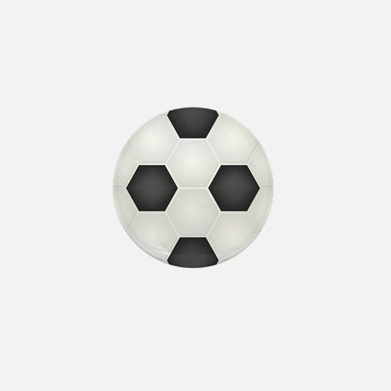 Football Ball Texture Mini Button