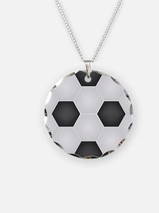 Football Ball Texture Necklace