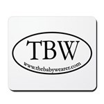 TBW Oval Mousepad