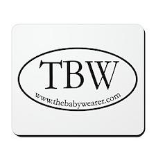 TBW Oval Mousepad