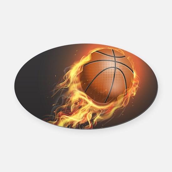 Basketball Player Car Magnets CafePress - Custom basketball car magnets