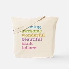 Amazing Bank Teller Tote Bag