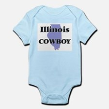 Illinois Cowboy Body Suit