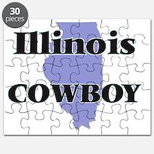 Illinois Cowboy Puzzle